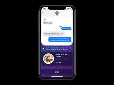 New Siri Suggestions | iOS13 mobile ios ios13 iphone motion ux ui principle animation concept design app