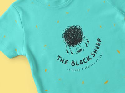The Black Sheep - logo design
