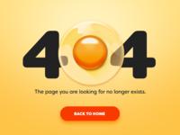 DailyUI 008 - 404 Page