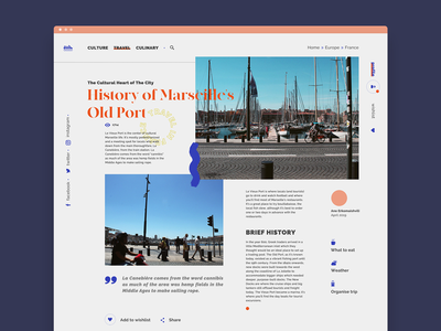 History of Marseille's Old Port