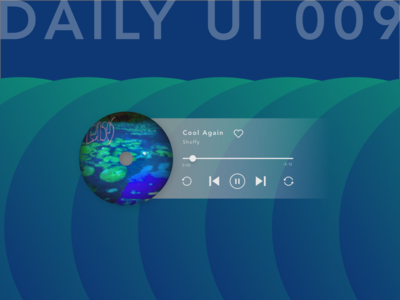 Daily UI_009_music player