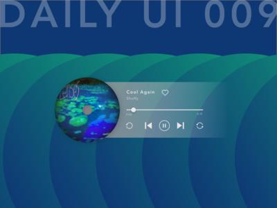 Daily UI_009_music player