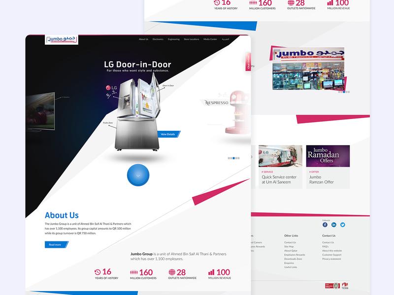 Jumbo Electronics Website samsung design web website uiuxahmed ux ui electronics jumbo