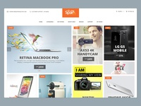 Spark Electronics Website e-commerce clean search online store shop design product spark electronics website web uidesign uxdesign ux mobileapp ui uiuxahmed
