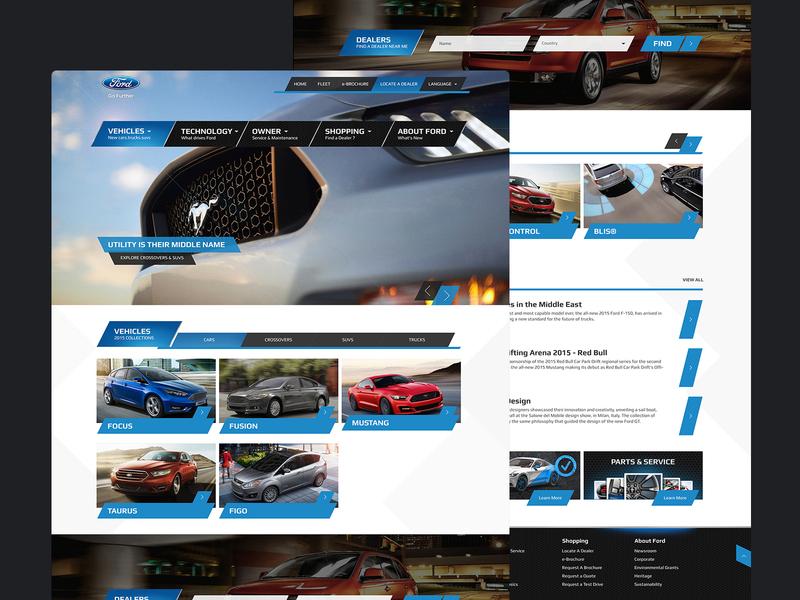 Ford Website Wordpress Template cars dealer shopping vehicle wordpress template landing page mustang ford car website web uidesign uxdesign ux ui mobileapp