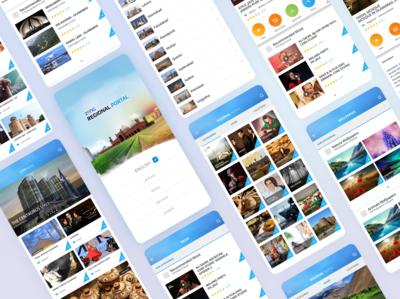 Music, Wallpaper & Video App app uiuxahmed language punjabi wallpaper ux ui music video