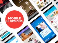 25 Mobile App UI Designs