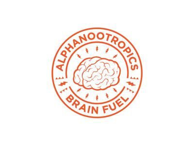 Concept logo for AlphaNootropics