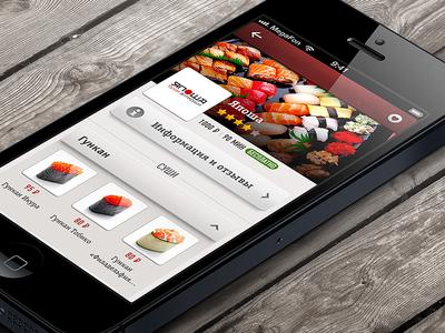 Foodik app, restaurant