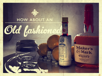 How about an Old Fashioned?