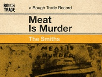 The Smiths, Meat is Murder - Penguin Book Style