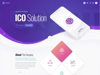 CRYPTO - ICO and Cryptocurrency Theme.