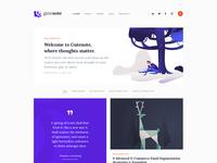 Gutenote - Gutenberg WordPress Creative Blog.