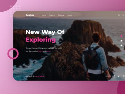 Exploring Ui Shot explore adobexduikit adobexd uxdesign ui ux uidesign webdesign