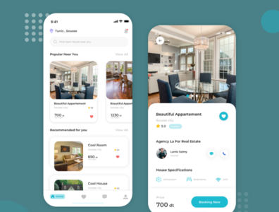 RealUI - real estate mobile app