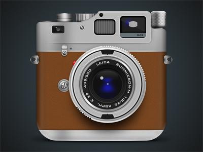 Leica M9 Hermes icon camera icon leica app