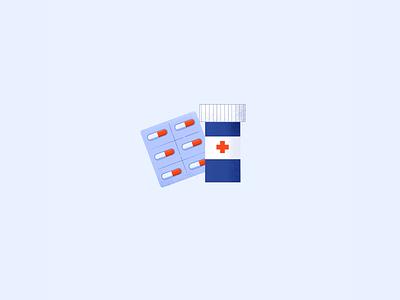 Meds illustration procreate pills medicine meds