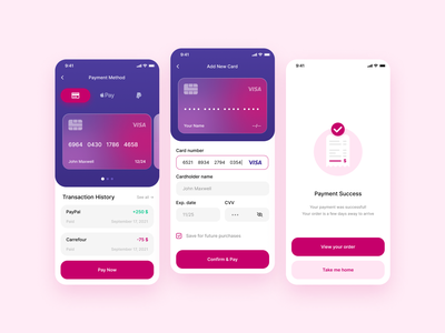 Credit Card Payment Method app design figma design appui appuidesign creditcardcheckout checkout ui payment 002 card credit creditcard dailychallange dailyui002 dailyui 002 checkout page