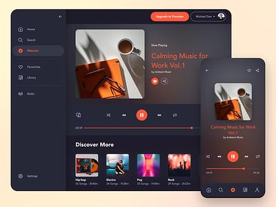 Music Player playlist ui playlist music app ui music app music player ui music player music mobile app desktop app app dailyuichallenge 009 dailyui009 dailyui daily