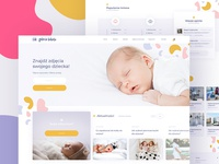 Newborn photography website