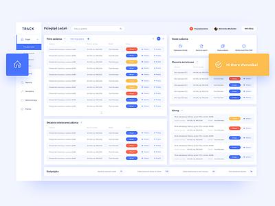 Simple dashboard panel sidebar manager task desktop dashboard