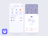 We've updated our payments! design app ui mobile ios cuvva card details view card subscription billing apple pay pay card wallet payments payment