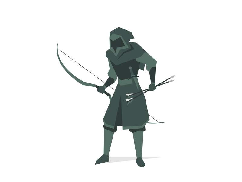 Sneak Thief character bow sneak stealth archer