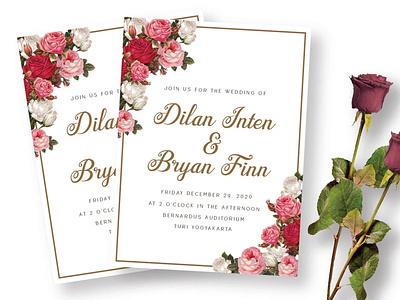 Ayulinda wedding invitation wedding calligraphy fonts calligraphy elegant typeface type font script branding typography