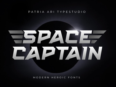 Space Captain - Modern Fonts space fonts modern font logotype logo font logo fonts movies cinema popular fonts future fonts modern fonts font design typography display branding typeface type font