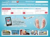 Turkish Airlines.com (Concept Work)