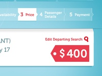 Turkish Airlines.com (Concept Work) -- Price Page