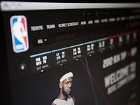 NBA .com Concept UI Design (Personal Project)
