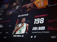 NBA .com Concept UI Design Piece (Personal Project)