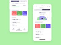 Pickle · Stats app screens