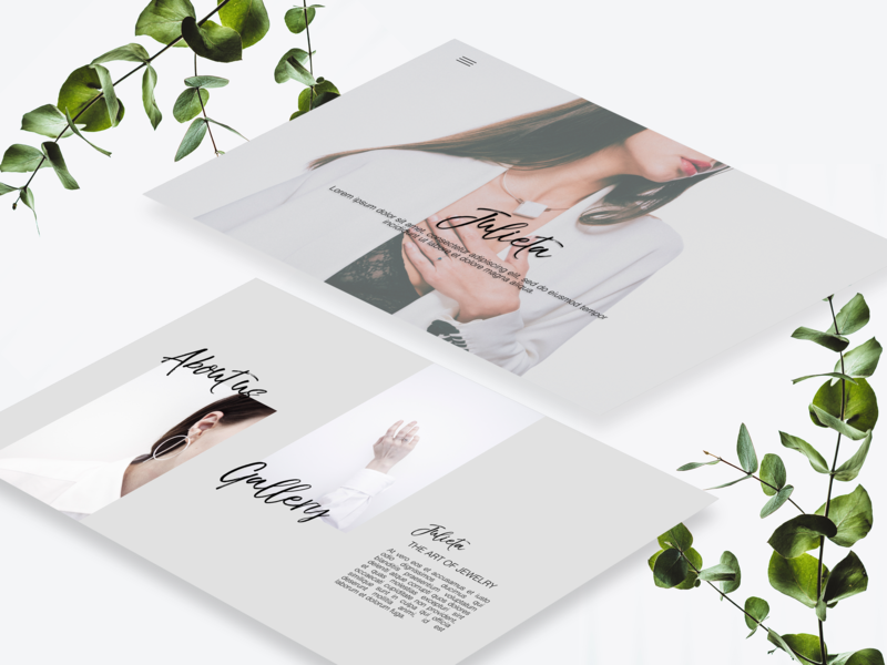 Julieta's Jewelry Website