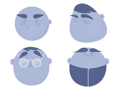 Kids gradient kids illustration teenager design character