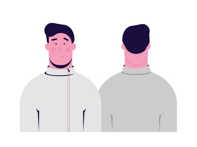 Character design character design sweatshirt running fitness 2d vector motion design 2danimation illustration after effects adobe illustrator