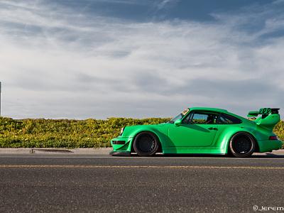 Porsche RWB sketch illustration car rwb porsche