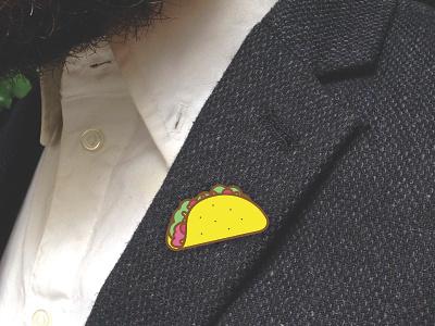Taco Pin lapel pin tacos taco