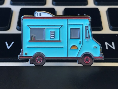 Taco Truck Pin lapel pin enamel pin pin game taco pin taco truck pin taco truck pin