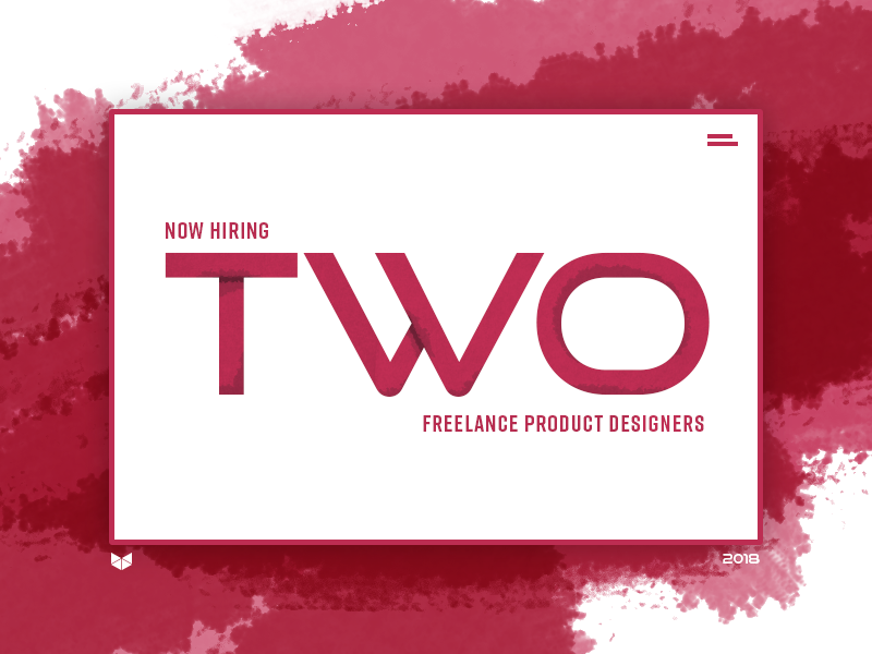 Now Hiring: Two Freelance Product Designers openings jobs freelance hiring