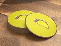 Taco Coasters