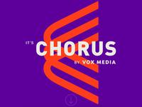 Chorus vox media design vox product animation motion type web design vox media chorus