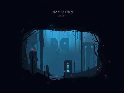 Nastrond concept art graphic design vector art gamedev fantasy dark vector atone animation art design illustration