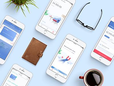 Meet Tally fintech finance showcase ux ui ios cards credit mobile app launch tally