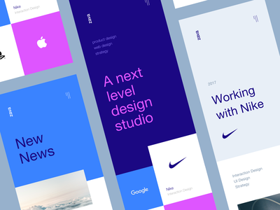Zava Studio Concept next google apple nike studio color design app mobile ios concept ux ui