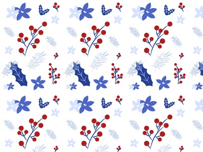 Cool Holiday Pattern holiday