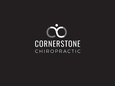 Refreshed illustration logo chiropractor medical