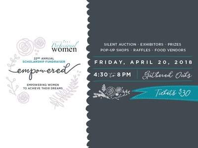 Empowered floral scholarship womens event alexandria
