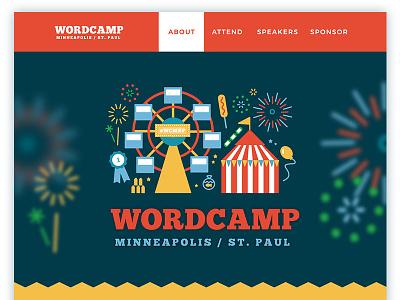 WordCamp Minneapolis/St. Paul wordpress wordcamp branding